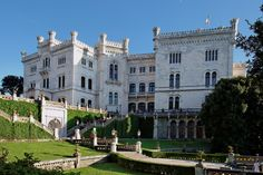 Castello di Miramare, Italy jigsaw puzzle in Castles puzzles on…