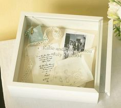 Love this post-wedding memory box idea!