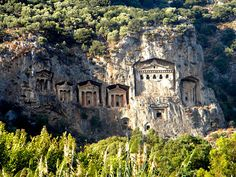 Tombs of Kaunos (Dalyan, Turkey)