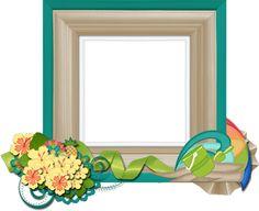 Scrapbooking TammyTags -- TT - Designer - 4 My Babies Scraps,  TT - Item - Frame, TT - Style - Cluster, TT - Theme - Summer or Beach