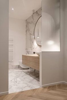 Modern Bathroom Design Ideas Plus Tips On How To Accessorize Yours 18 - kindledecor Bad Inspiration, Bathroom Inspiration, Modern Bathroom Design, Bathroom Interior Design, Bathroom Renos, Bathroom Ideas, House And Home Magazine, Beautiful Bathrooms, House Rooms