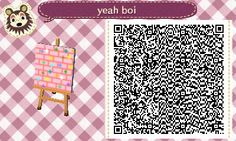 Animal Crossing: New Leaf & HHD QR Code Paths , perid-t: someone asked for the paths i have so...