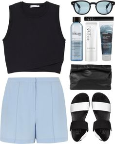"""""""black and blue"""" by g-uavacoves on Polyvore"""