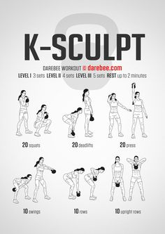 The kettlebell deadlift is a great functional exercise for your legs, lower back and abs. Here's how to perform the kettlebell deadlift: Cardio Training, Weight Training, Strength Training, Muscle Training, Fitness Workouts, Fitness Motivation, Weekly Gym Workouts, Darebee, No Equipment Workout