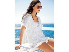 Strickanleitung für angesagten Pullover im Yacht-Look