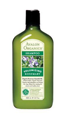 I love the volumizing rosemary shampoo and conditioner by Avalon Organics