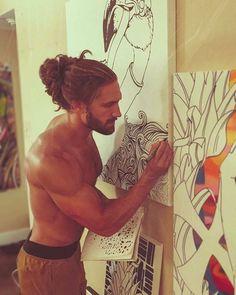Never seen such fine art!