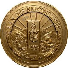 RSA (Pre-1994): Jan & Maria van Riebeeck V.O.C. Oriental, Golden Age, Old And New, Statues, South Africa, Dutch, Cape, Homeschool, Coins