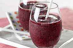 Berry Banana Fruit Smoothie recipe, & I'll add protein powder--I often make smoothies like this with a banana.