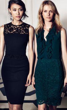 Tory Burch. Especially love the black dress.