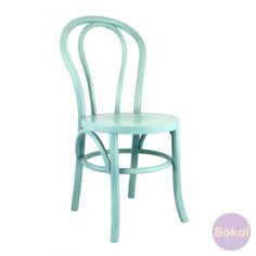 Replica Thonet Bentwood Timber Dining Chair - Colours - Blue