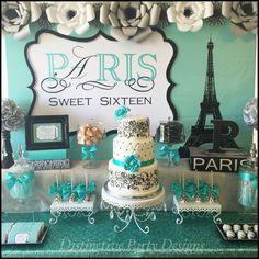 Paris Sweet Sixteen | CatchMyParty.com