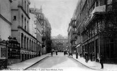 Rue Thénard avant 1934