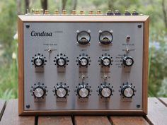 Condesa Carmen In Silver. This is a rotary mixer for music lovers.