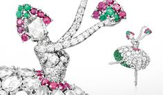 Historic Pieces - The Ballerina and Fairy clips of the 1940s #vancleefarpels