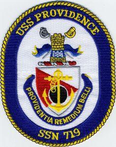 USS Providence - SSN 719 - BCPatch