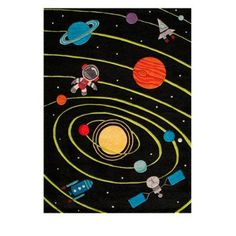 Outerspace Area Rug - 8' X 10' - Grandin Road