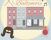Good Morning Baltimore #flatdesign