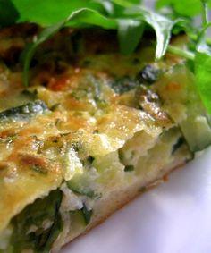 Zucchini Quiche Recipe – Healthy Zucchini Quiche Recipe – easy quiche recipe — Eat Well 101