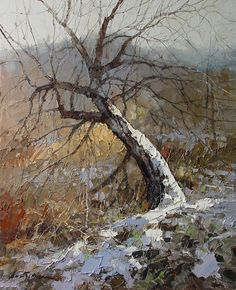 Old Tree in Winter - Song Jiang Studio