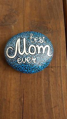 Whats a better way to tell mom you LOVE her, than a beautiful handmade stone? She can place this precious piece in her garden, planter, in the office or anywhere in her home. I can personalize this gift by adding her name to it, just please let me know. This rock was made to add