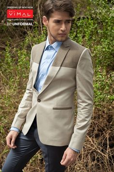 We make heads turn because one look ain't enough. Category-Fashion Jacketing 12107 - 1(Blazer) 13024-3(Fashion Cottons –Trouser)