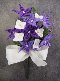 Macrame flowers