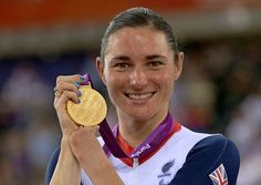 Great Britain's Sarah Storey with her gold medall after winning the Women's Individual C5 Pursuit. Photo: David Davies/PA Wire  London 2012: Sarah Storey bags Team GB's first gold of Paralympic Games