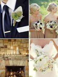 earth tones mixed with elegance