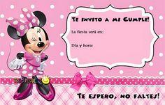 Tarjeta de cumpleaños gratis de Minnie zebra - Imagui