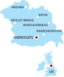 Here we are come and Visit Harrogate!