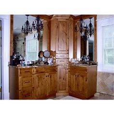 Every woman deserves a #BeautifulBathroom to get ready in. These texturized wood cabinets look stunning against the large glossy mirrors. If youre interested in a bathroom remodel please give us a call at (973) 402 5886. #Vanity #Bathroom #NJ by creativecabinetsnj Bathroom remodeling ideas.