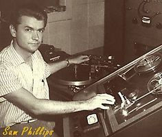 Sam Phillips. He may not have invented rock n' roll but his production work with Elvis Presley, Carl Perkins, Jerry Lee Lewis, etc. for his Memphis Recording Services studio and Sun Records label certainly helped it gain a foothold. Rockabilly may have been invented under his auspices though. He also recorded a lot of straight up blues from B.B. King, Howlin Wolf, etc.