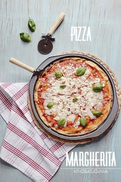 Pizza Margherita | food photography