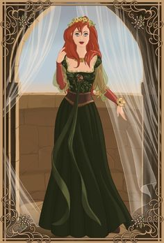 Medieval Princess Ariel. Disney Princess. Fan art. Creative. Beautiful. Fashion. Diva #ForeverEileen