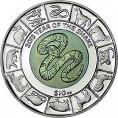 Virgin Islands 10 Dollar Silber Schlange mit Titankern PP Auflage: 5000  Feinheit: 925/1000  Erhaltung: PP  Material: Silber  Raugewicht (g): 22,000000  Feingewicht (g): 20.3500  Durchmesser (mm): 38,6  Nominale: USD 10  Ausgabejahr: 2013  Ausgabedatum: 01.10.2012  Land: Virgin Islands  Lieferumfang: In Kapsel mit Zertifikat, Etui  Anmerkung: Bei den angezeigten Bildern handelt es sich um Symbolfotos.