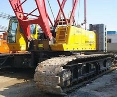 Used 2007 #Sany_heavy_ind_co_ltd SCC1500C #Crane Review @ http://www.machineryequipmentdealers.com/used-machinery/2007/crane/sany-heavy-ind-co-ltd/scc1500c/3334/