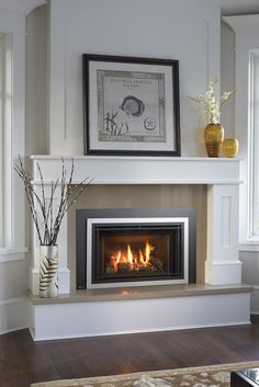 8 Innovative Clever Tips: Fixer Upper Fireplace Shiplap victorian fireplace black.Corner Fireplace Next To Window rustic fireplace living room.Fireplace Design With Hearth. Corner Fireplace Mantels, Tv Above Fireplace, Paint Fireplace, Fireplace Inserts, Fireplace Remodel, Fireplace Mantle, Living Room With Fireplace, Fireplace Surrounds, Fireplace Design