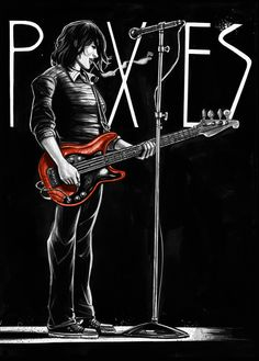 Kim Deal (Pixies & Breeders)  This is awesome.