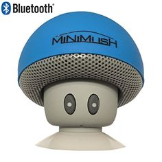 Mini Bluetooth Speaker - Fun Shockproof Cartoon Mushroom with LED Display Lighting and Wireless Integrated Mic for Calls - Ideal for your iphone 6, Apple Ipad, HTC and Samsung Phone (Blue) MiniMush http://www.amazon.com/dp/B01962DDZQ/ref=cm_sw_r_pi_dp_HOvNwb14AP3JT