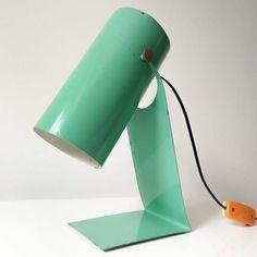 Desk Lamp, Table Lamp, Lighting, Polish, Design, Home Decor, Lamp Table, Vitreous Enamel, Light Fixtures