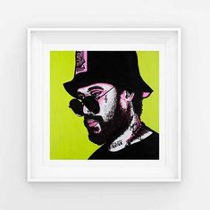 I just love Schoolboy Q in these vibrant colours. Man of the year in my #etsy shop: SchoolboyQ | Art print | Wall Art | Hip Hop | Home Decor | Portrait | Artwork http://etsy.me/2FkWAW4 #art #printmaking #lime #pink #painting #wallart #homedecor #artprint #hiphop #neon