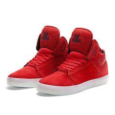 SUPRA ATOM | ATHLETIC RED | Official SUPRA Footwear Site