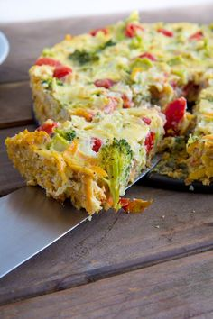 Keep breakfast gluten-free with Sweet Potato Crust Quiche and still get some complex carbs in the mix.