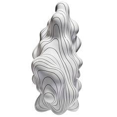 What speaks louder: the lines or the shape? Or do they together speak a language undefined? Steen Ipsen Sculpture