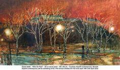 "Daniel Ablitt - ""After the Rain"" - Oil on wood panel"