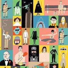 Rob Hodgson | Urban Graphic gift wrap #illustration #geeky #