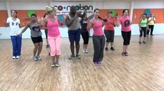 "Zumba to TALK DIRTY"" (by Jason Derulo) - Choreo by Lauren Fitz for Dance Fitness . i like her choreography and the tall black guy behind her is always gettin' it lol Zumba Fitness, Dance Fitness, Fitness Tips, Fitness Motivation, Fitness Exercises, One Song Workouts, Workout Songs, Workout Videos, Fun Workouts"