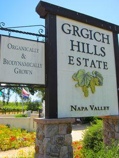 Grgich Hills Estate Winery.  ASPEN CREEK TRAVEL - karen@aspencreektravel.com