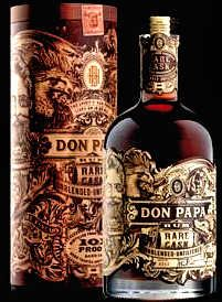 Don Papa Introduces a Rare Cask Rum Whisky Bar, Cigars And Whiskey, Scotch Whiskey, Whiskey Bottle, Fun Drinks, Alcoholic Drinks, Don Papa, Rum Shop, Good Rum